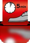 5 Minuten einwirken lassen - EN
