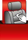 Autositz Tuch